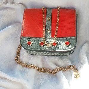 NWOT Gorgeous Ecosse Leather Crossbody bag